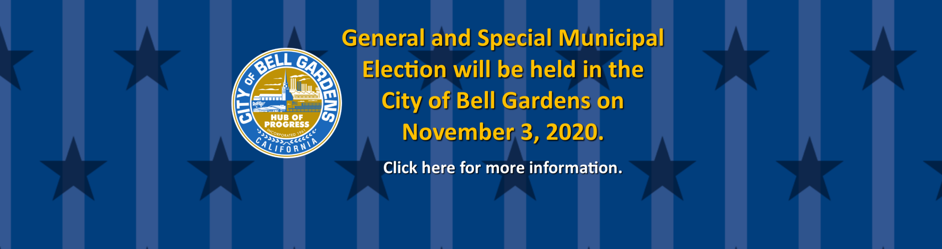 BG General and Special Municipal Election Banner1